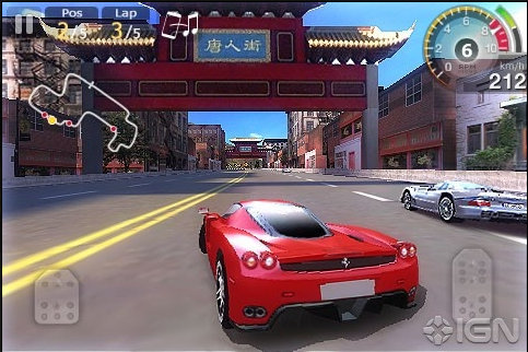 underground racer 240 400 full touch screen games for java jar